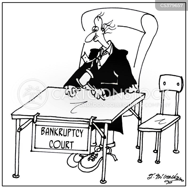 bankruptcy order cartoon