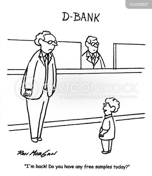 credit accounts cartoon