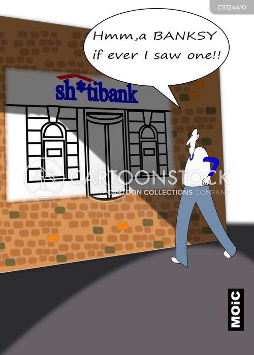 banksy cartoon