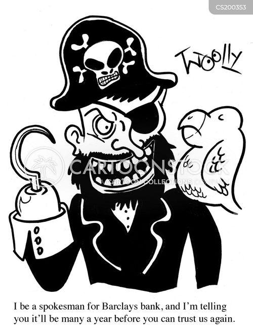 barclays cartoon