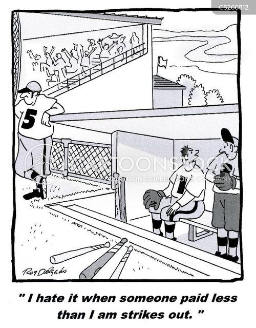 strike out cartoon