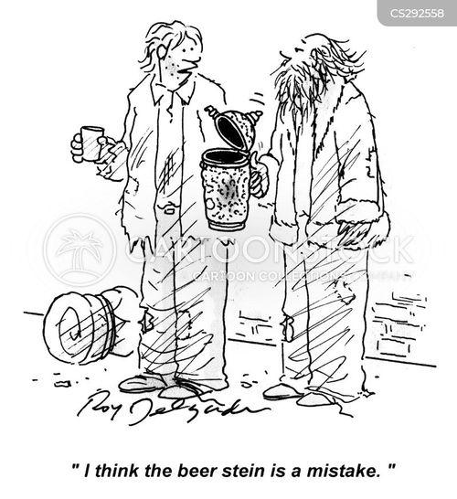 stein cartoon