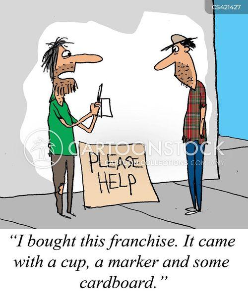 franchises cartoon