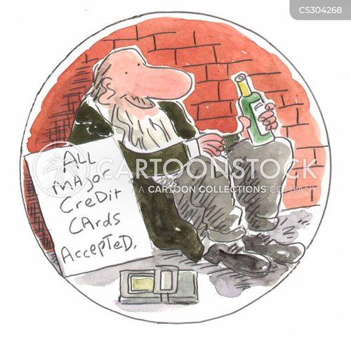 creditcard cartoon