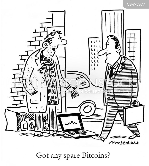 crypto currency cartoon