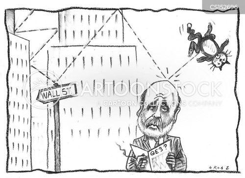 quantitative easing cartoon
