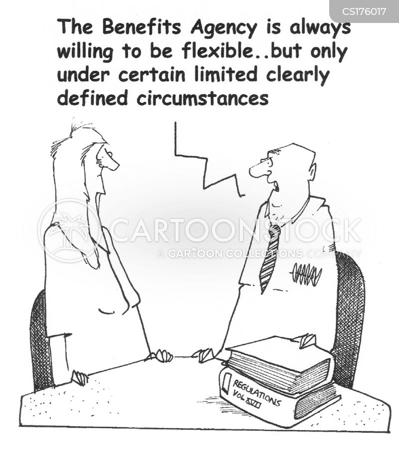 flexibility cartoon