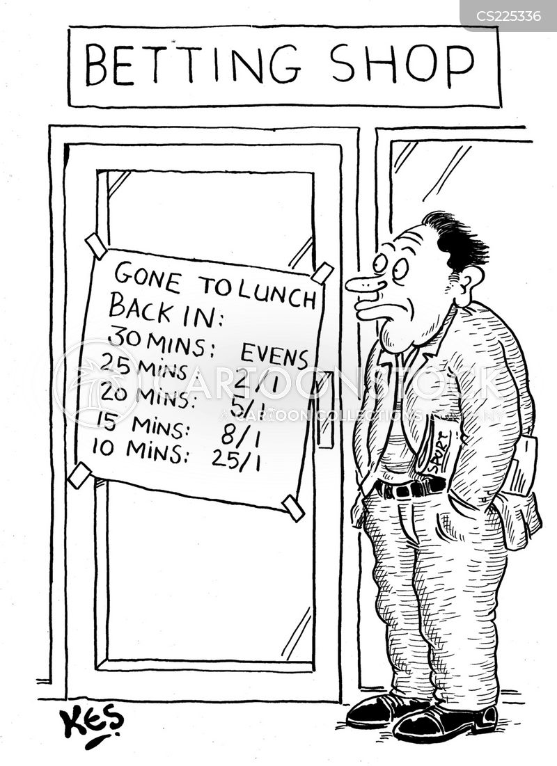 turf accountant cartoon