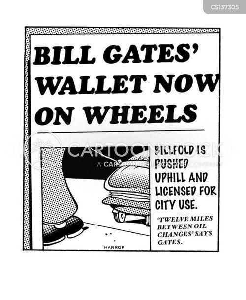 dollar bills cartoon