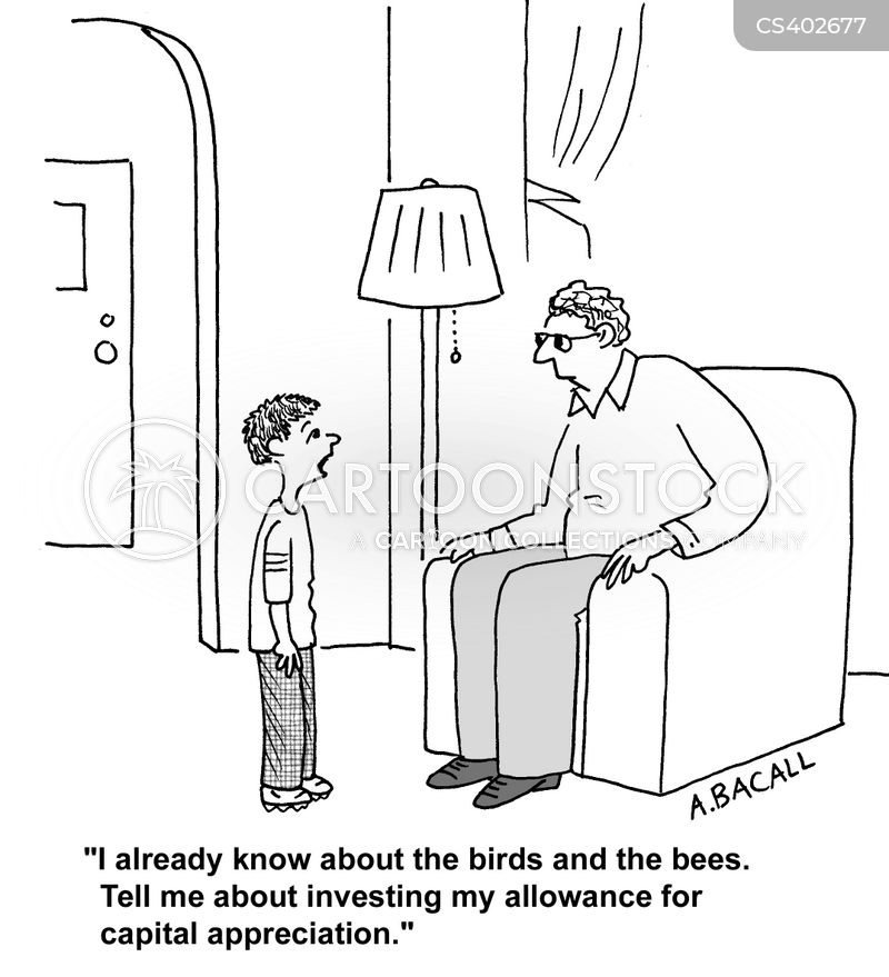 birds and the bees cartoon