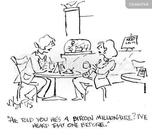 digital currencies cartoon