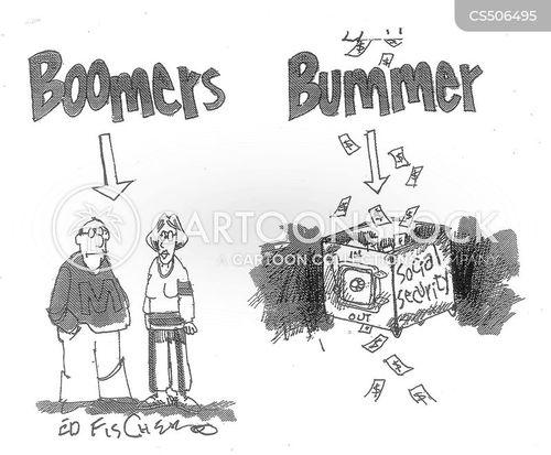 bummer cartoon