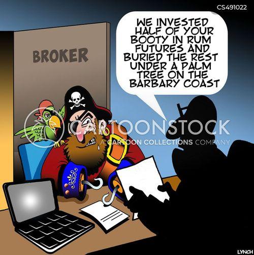 money launder cartoon