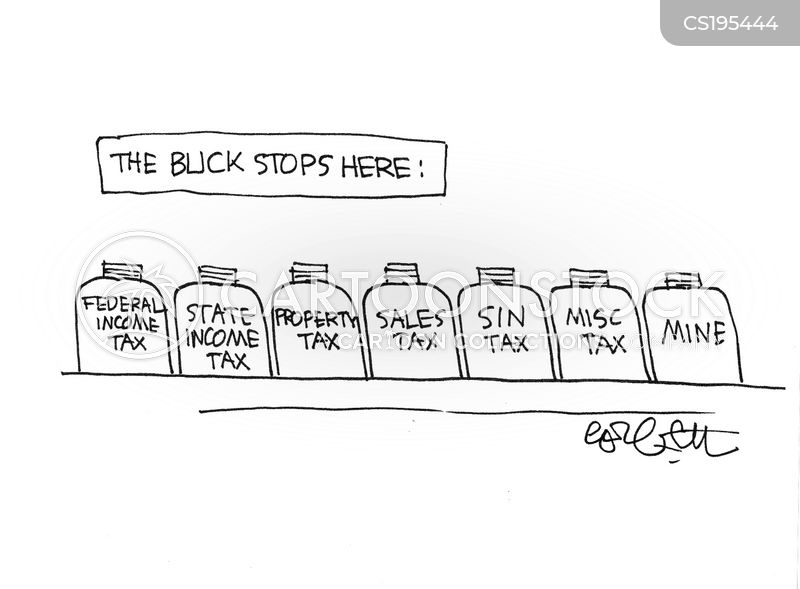 sales tax cartoon