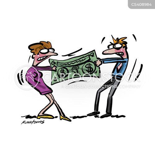 family budget cartoon