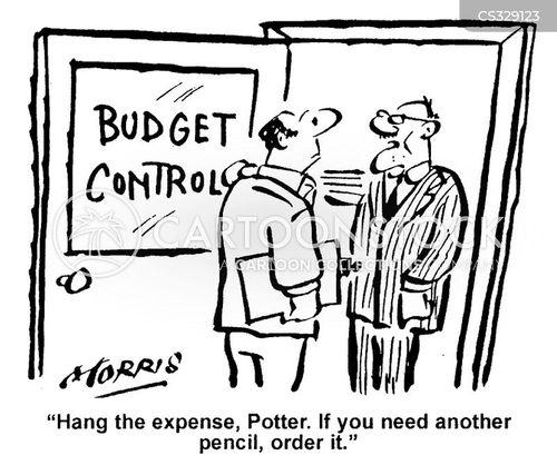 budget control cartoon