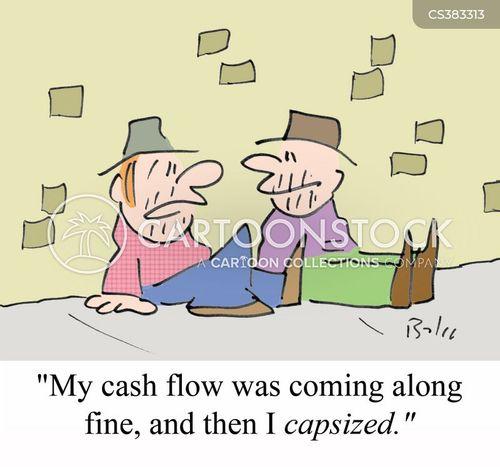 capsizing cartoon