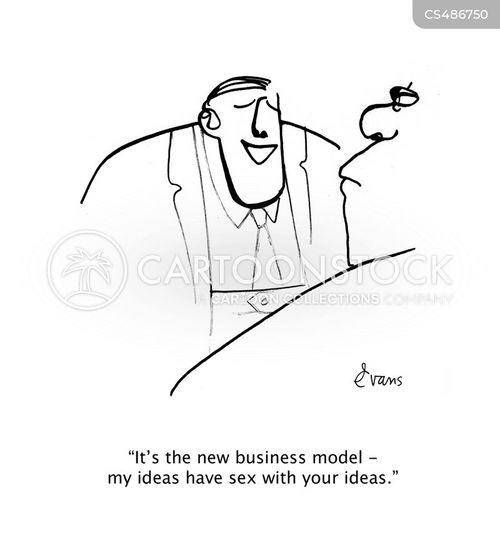 brainstormed cartoon