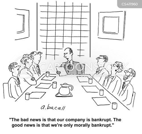 corporate morality cartoon