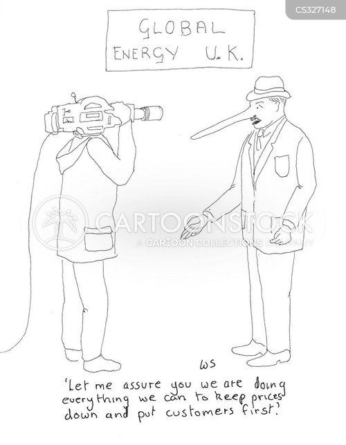 energy company cartoon