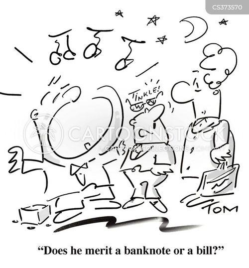 bum note cartoon