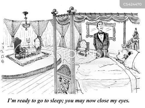 domestic servant cartoon