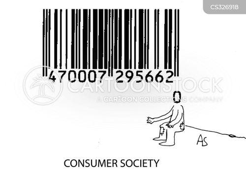 materialistic society cartoon