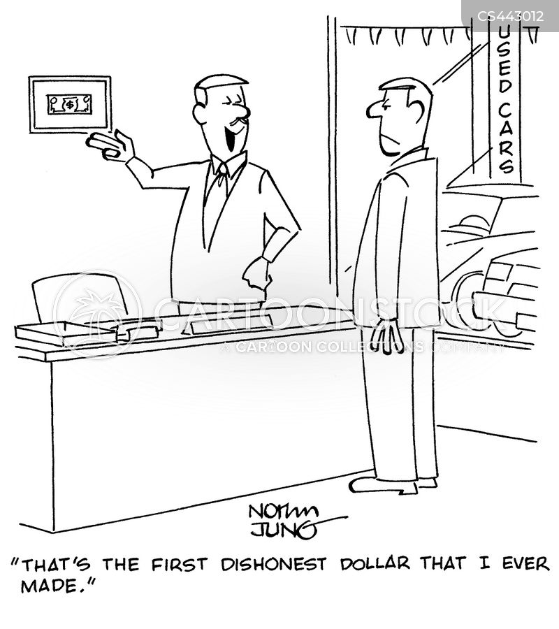 first dollar cartoon