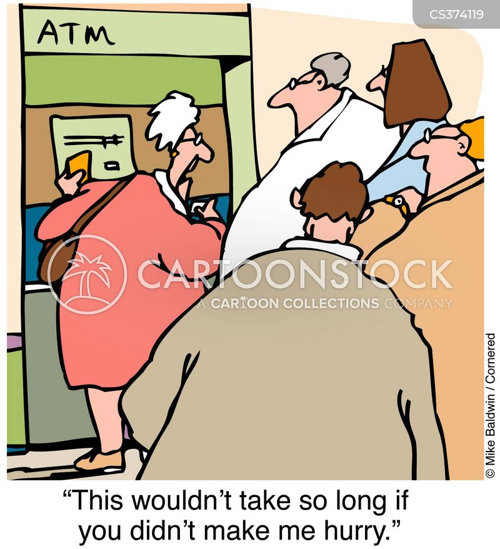 high street bank cartoon