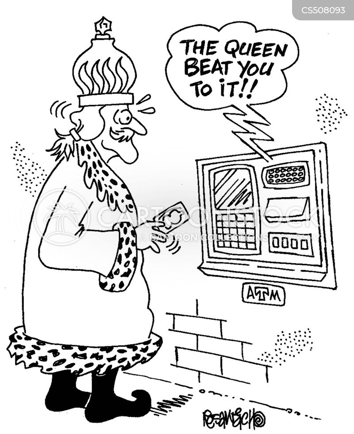 joint bank account cartoon