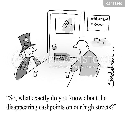 police interview cartoon