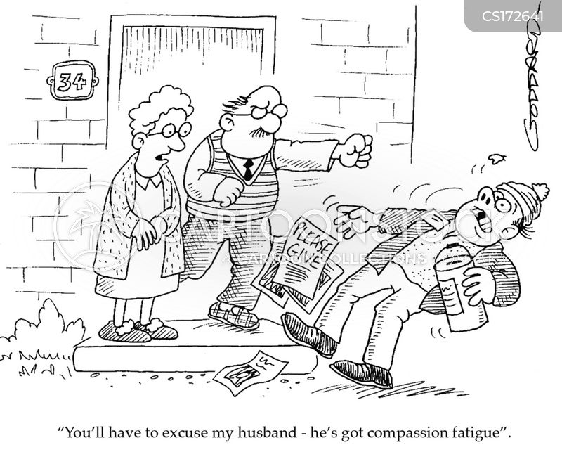 compassion fatigue cartoons and comics funny pictures from