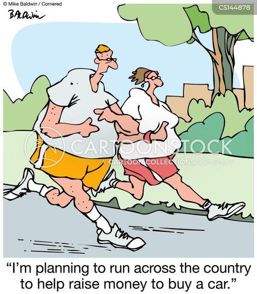 self-serving cartoon