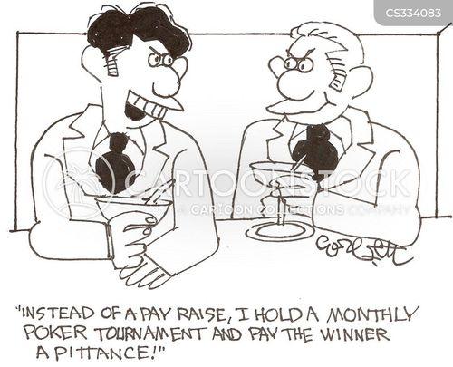 poker tournaments cartoon