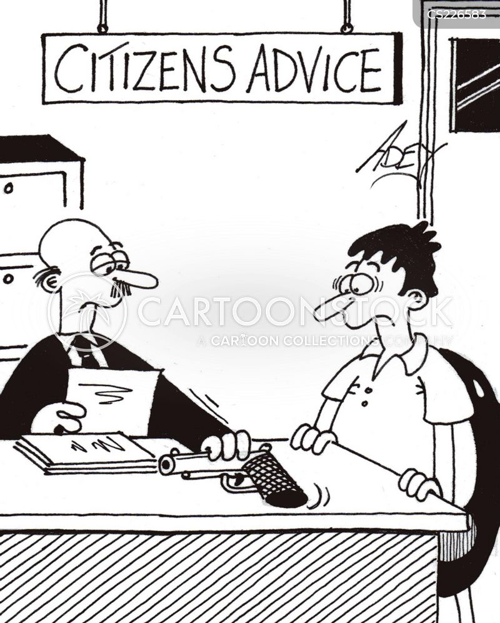 owing money cartoon