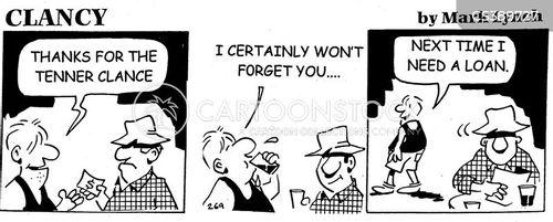 ungracious cartoon