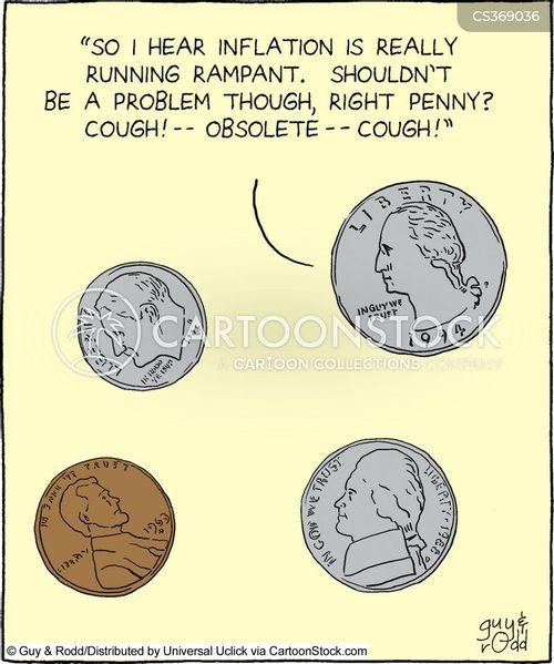 penny cartoon