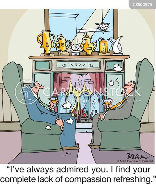 detachment cartoon