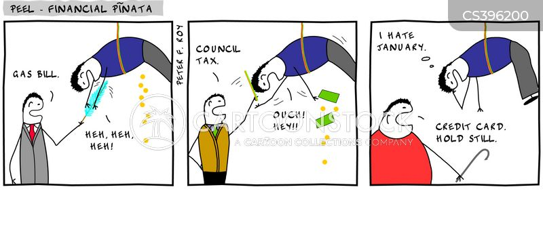 consumer debt cartoon