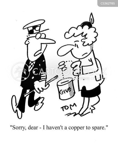 Image result for police money collectors cartoon