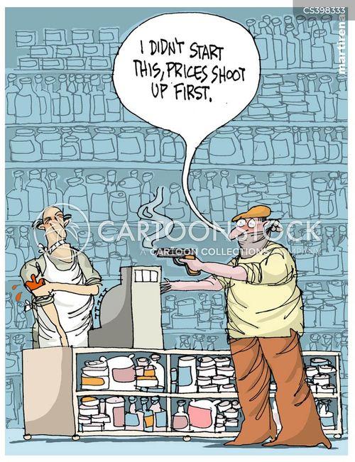 price hikes cartoon