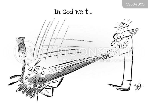 religious interpretations cartoon
