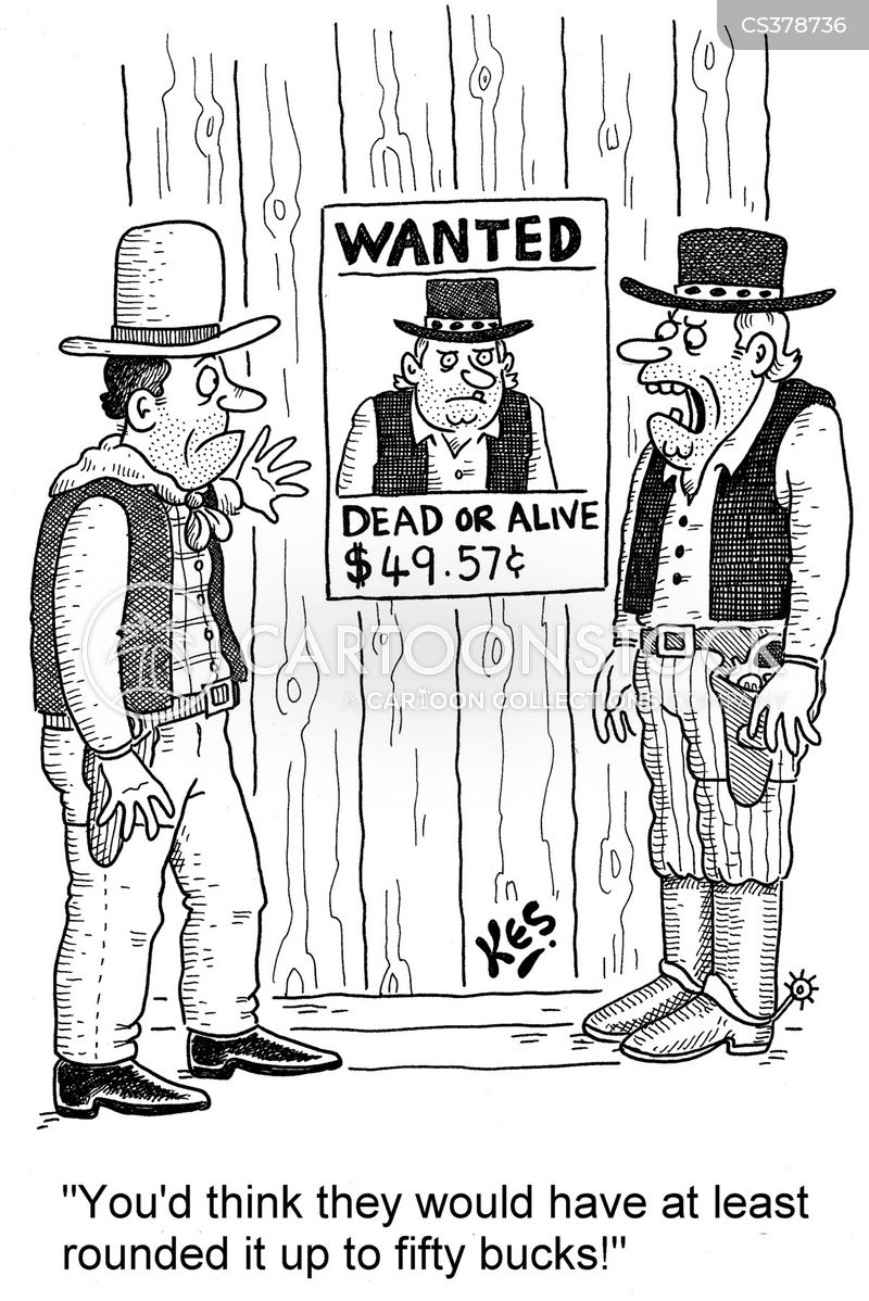 wanted dead or alive cartoon