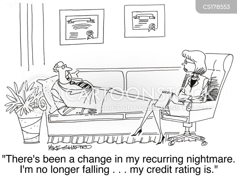 credit rating cartoon