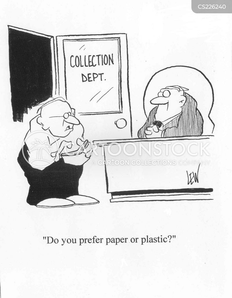 collection agency cartoon