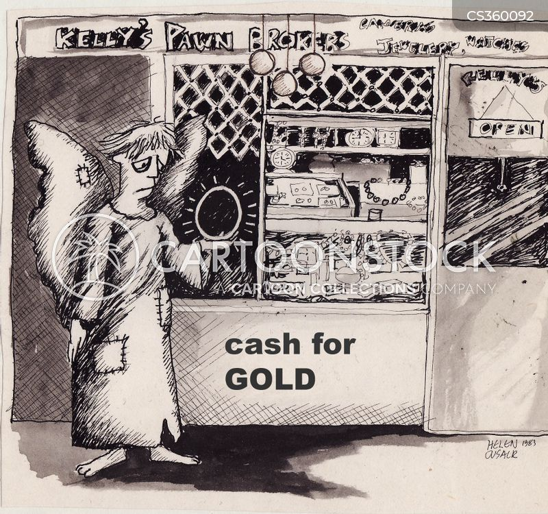 pawn brokers cartoon