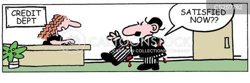 credit departments cartoon