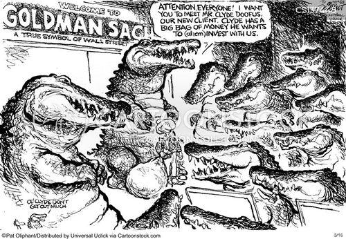 investment banks cartoon