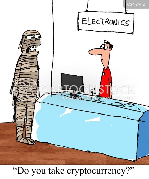 electronics store cartoon