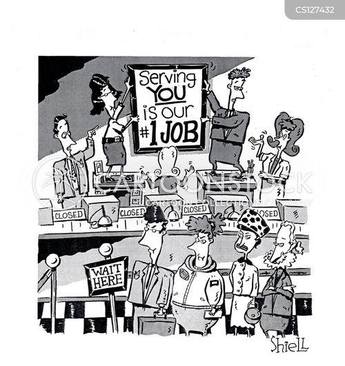 false advertising cartoon